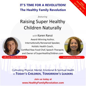 Healthy Family Revolution Flyer Karen Ranzi-2