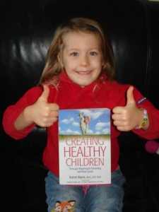 Nathalie Eulaerts's Daughter with CHC