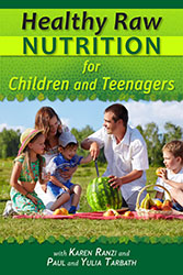 Health Raw Nutrition for Children and Teenagers