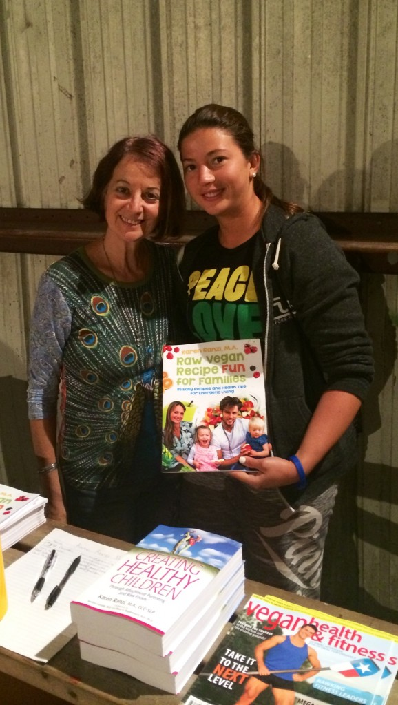 WFF 2014 Book signing