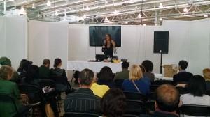Karen speaks at London Vegfest 2014