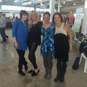 London Vegfest 2014- Victoria, Mimi Kirk, LJ and Karen #2