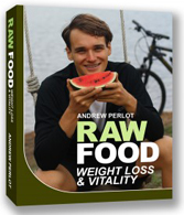 Cover of Raw Food Weight Loss & Vitality by Andrew Perlot