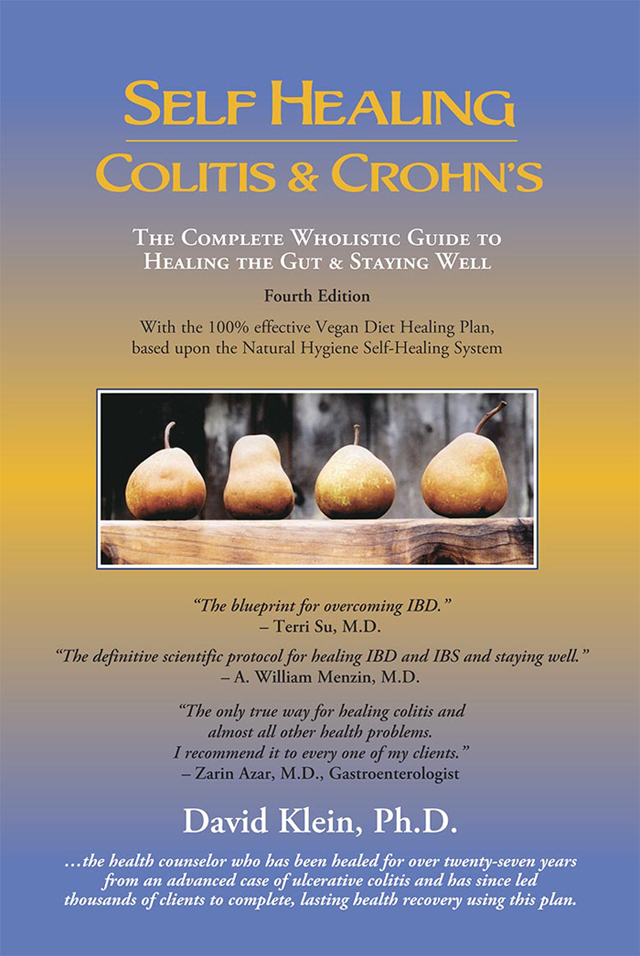 Cover of Self Healing Colitis & Crohn's by Dr. David Klein