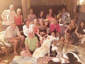 Love Raw Food Retreat group photo