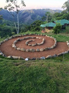 love raw food retreat sun gazing circle