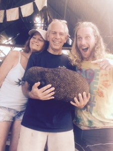 love raw food retreat with eric and chris and jackfruit