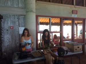 Hawaii Fruit Festival- Karen's tropical raw food demo
